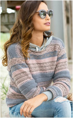 JACQUARD KNITTING PATTERN