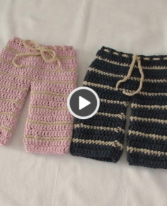 VERY EASY crochet trousers