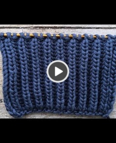 Great style knitting video