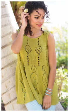 EFFECT TUNIC WITH SPOKES