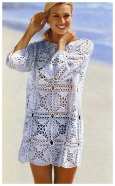 PATCHWORK PATTERNED SQUARE PULLOVER