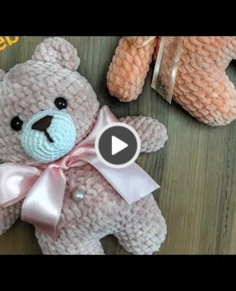 Amigurumi small teddy bear making
